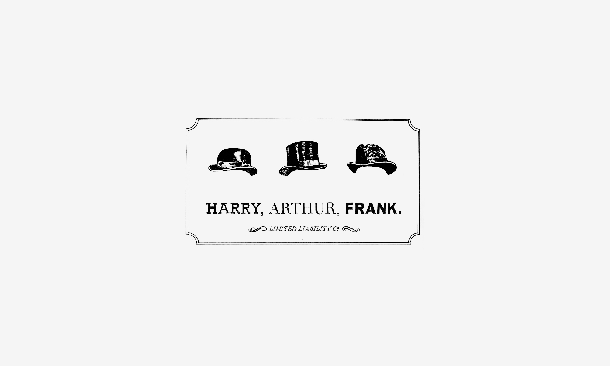 Harry, Arthur, Frank.